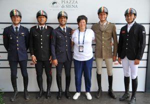 Business Voice: il casco E-light di Kep Italia a Piazza di Siena per la squadra azzurra