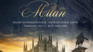 Arabian Horse Show a Vermezzo (MI) il 28 e 29 aprile