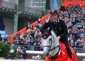 Gaudiano sul podio del Gran Premio del Royal Windsor Horse Show.