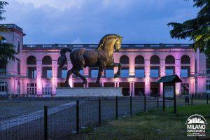 """Il cosiddetto """"cavallo di Leonardo"""" resta a San Siro e torna sotto ai riflettori"""
