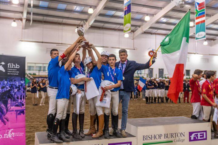 Horseball: argento per l'Italia Under 16 ai Campionati Europei